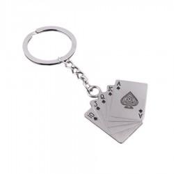 Porte-clés poker