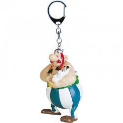 Porte-clés Obélix et Idéfix