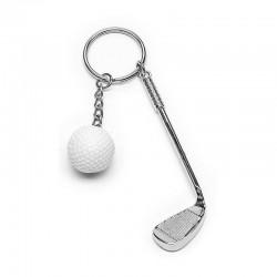 porte-clés club de golf avec balle
