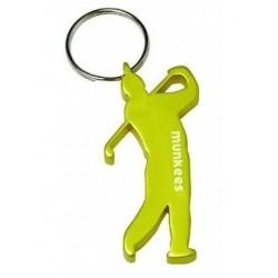 porte-clés décapsuleur golfeur