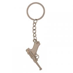 Porte-clés arme en métal