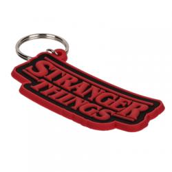 Porte-clés Stanger Things en caoutchouc