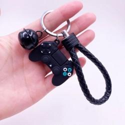Porte-clef poignée avec manette de jeu vidéo