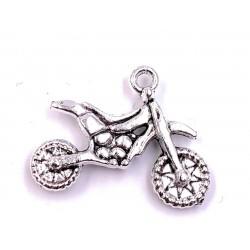 Porte-clés motocross en métal