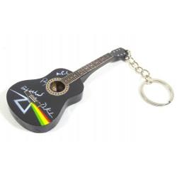 Porte-clés guitare en bois