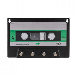 Porte-clés mural cassette de musique
