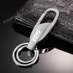 Porte-clés mousqueton d'aventure en métal