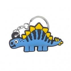 Porte clé dinosaure bleu