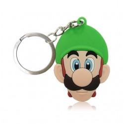 Porte clé Luigi en PVC