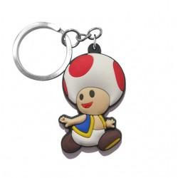 Porte-clés Toad en PVC